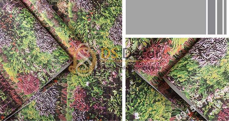 Bề mặt Giấy dán tương bụi cỏ 3D324