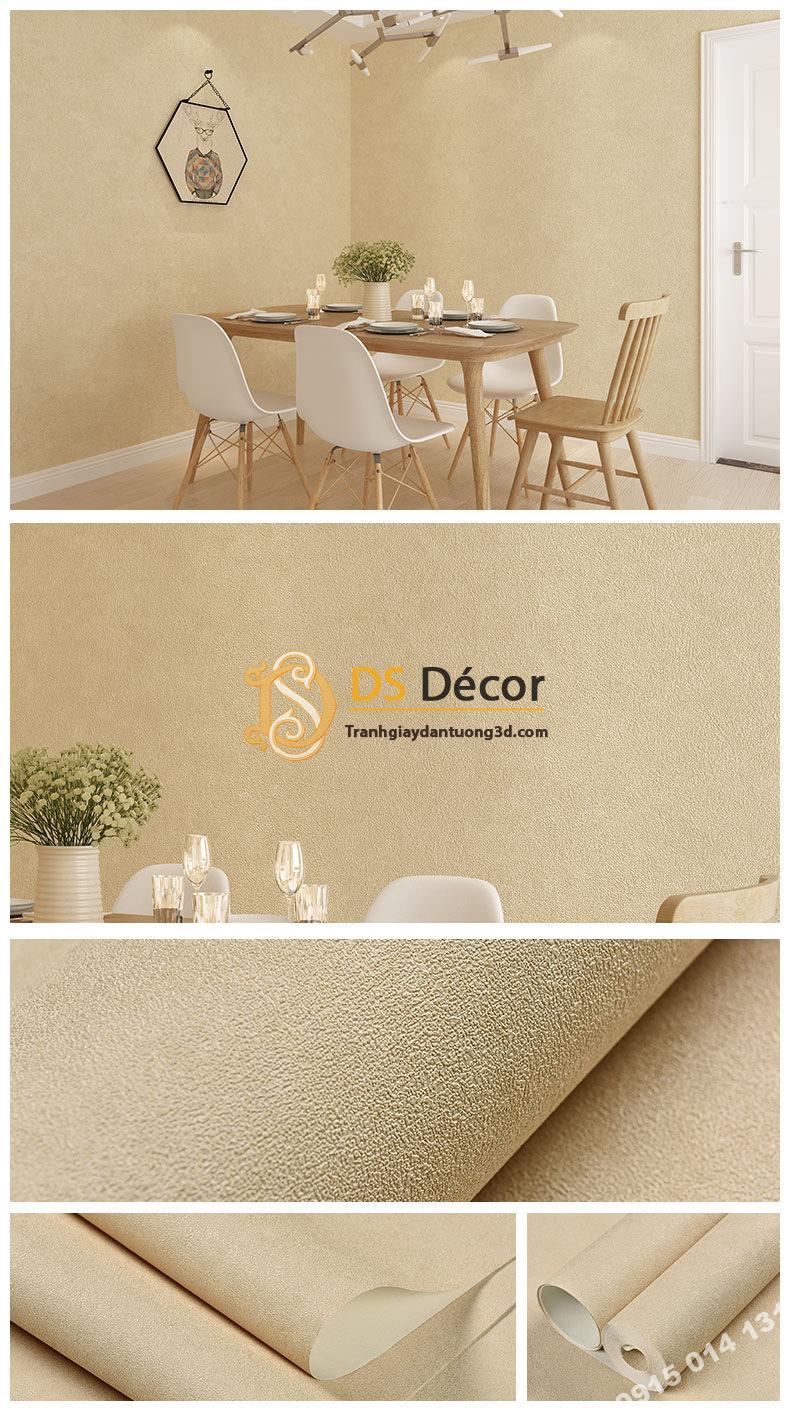 Giấy dán tường màu be nhạt PVC H7103 - 3D329