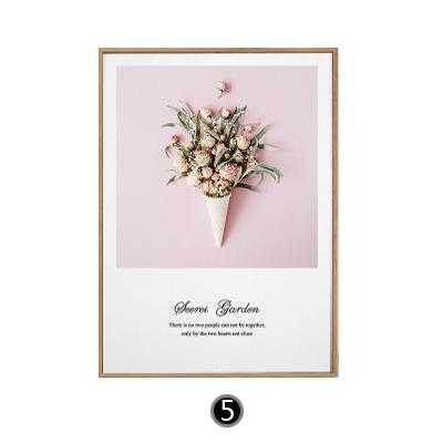 Tranh treo tường bó hoa hồng