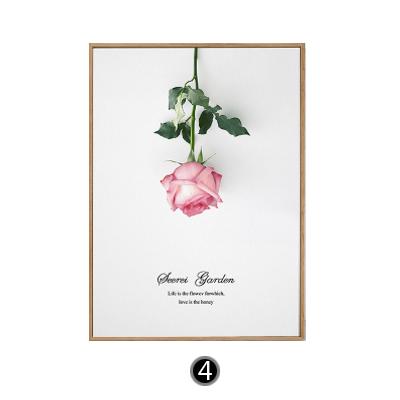 Tranh treo tường hoa hồng ngược