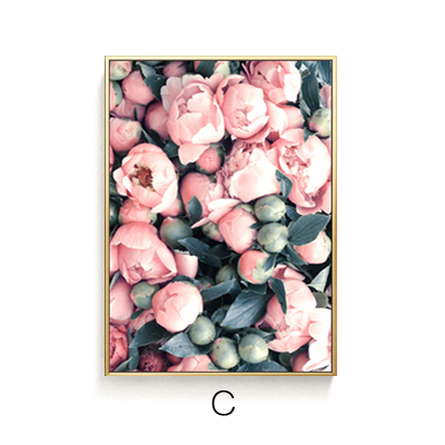 Tranh treo tường nụ hoa C