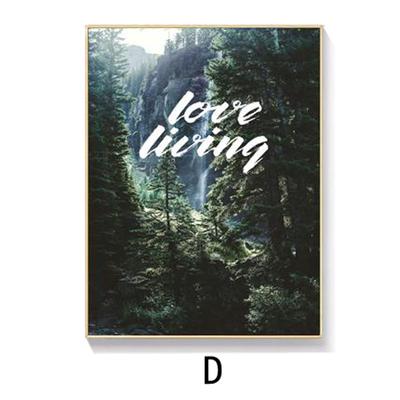 Tranh treo tường rừng love living
