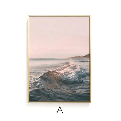 Tranh treo tường sóng biển