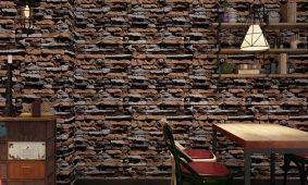 Top 33 mã Giấy dán tường thiên nhiên gỗ đá nature đẹp