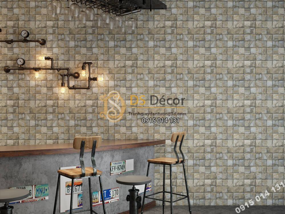 Giấy dán tường Hàn QUốc NATURE giả đá -73008-4