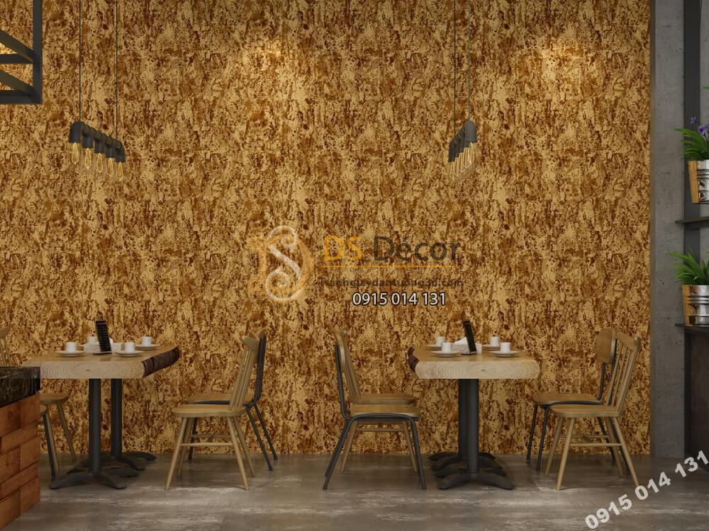 Giấy dán tường Hàn QUốc NATURE giả xi măng vàng -73006-5