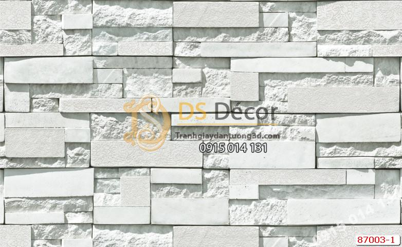 Giấy dán tường Hàn Quốc NATURAL giả đá 87003-1