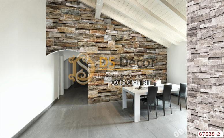 Giấy dán tường vân đá Hàn Quốc NATURAL 87038-2
