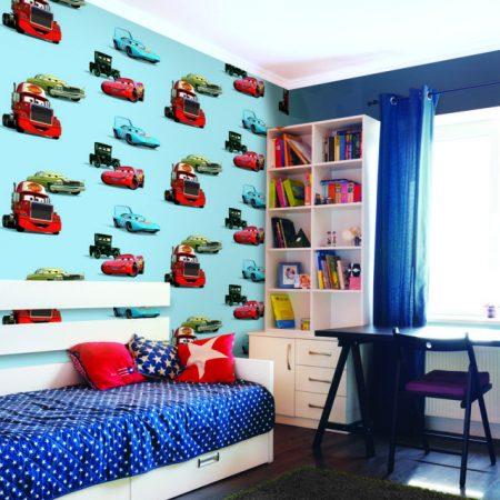 Giấy dán tường Hàn Quốc trẻ em Dream World D5019-1 phòng bé trai