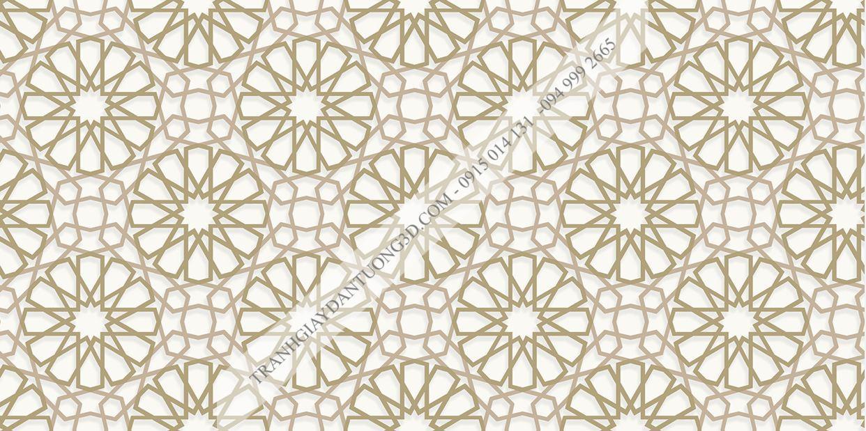 Giấy dán tường Sole họa tiết hoa tròn cách điệu 27032