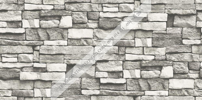 Giấy dán tường giả đá Sole mã 27114