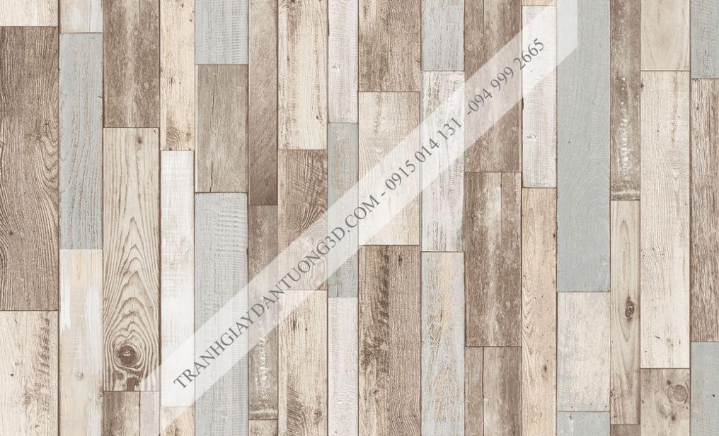 Giấy dán tường giả gỗ ghép Sole 27123