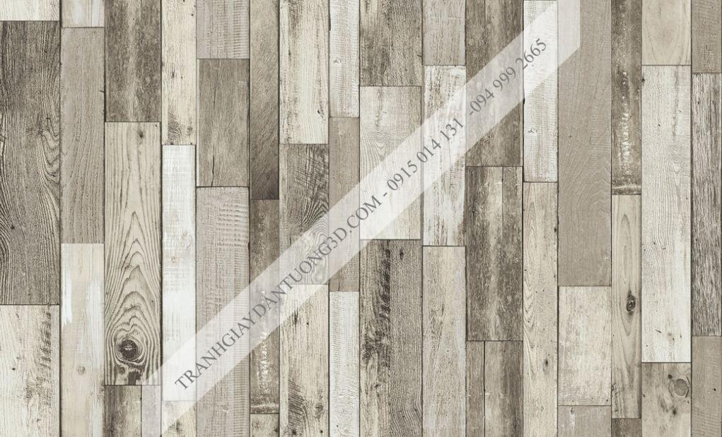 Giấy dán tường giả gỗ ghép Sole 27126