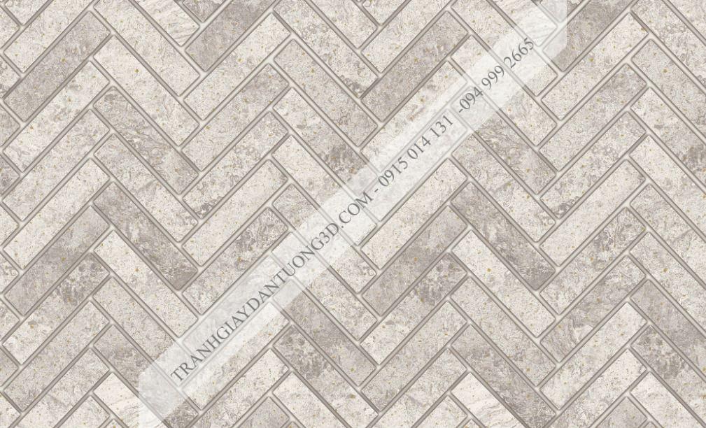 Giấy dán tường giả vân gạch đan chéo 23061