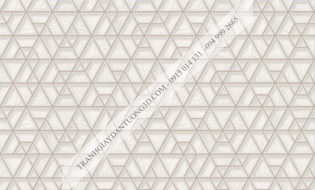 Giấy dán tường họa tiết đa giác 63041