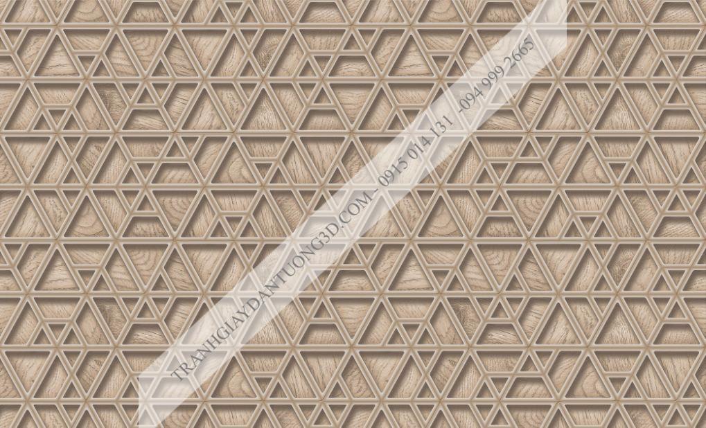 Giấy dán tường họa tiết đa giác 63043