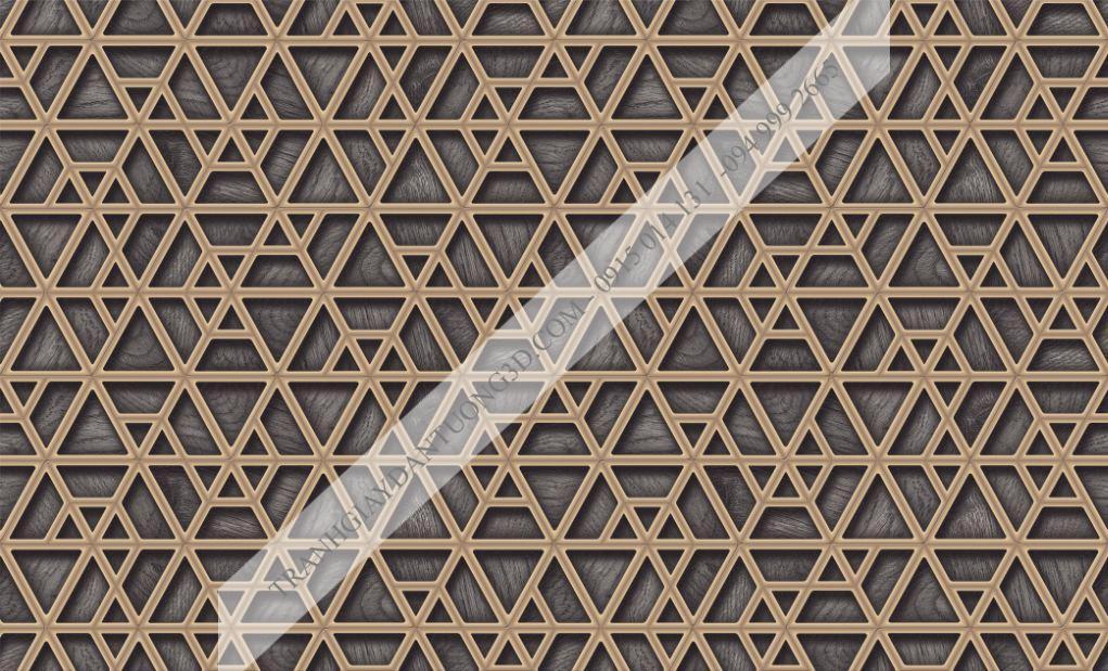 Giấy dán tường họa tiết đa giác 63044