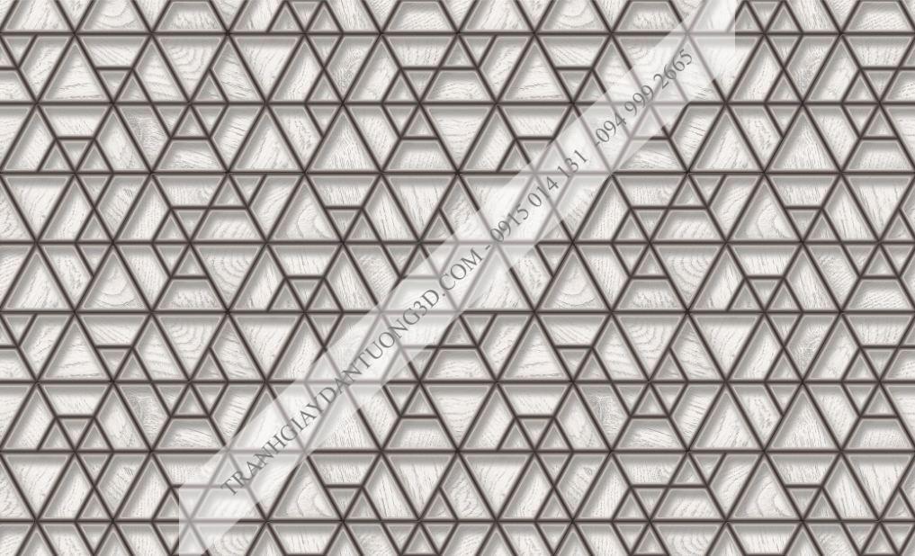 Giấy dán tường họa tiết đa giác 63045