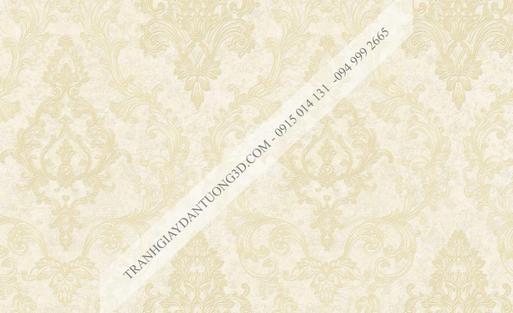 Giấy dán tường hoa châu âu dập nổi 23201