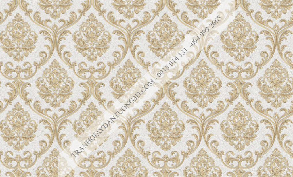 Giấy dán tường hoa châu âu sang trọng Graziella mã 29043