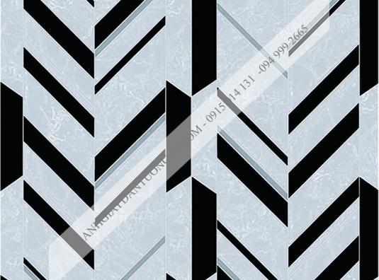 Giấy dán tường sọc đen bạc 4012-2