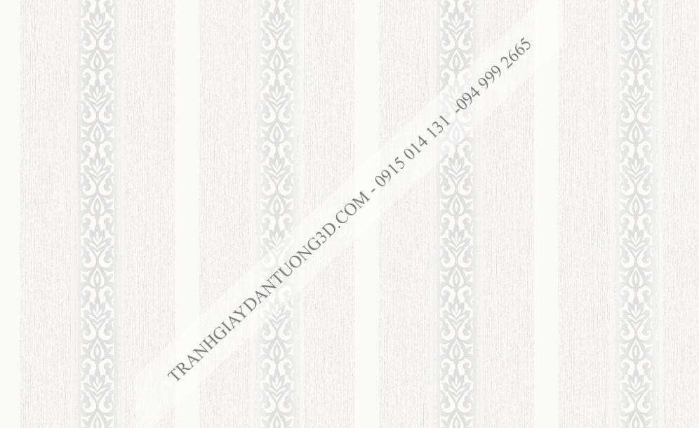 Giấy dán tường sọc dọc trắng bạc 23242