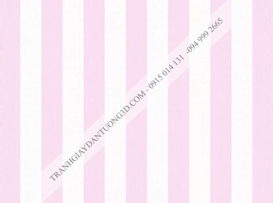Giấy dán tường sọc hồng trắng 4001-5