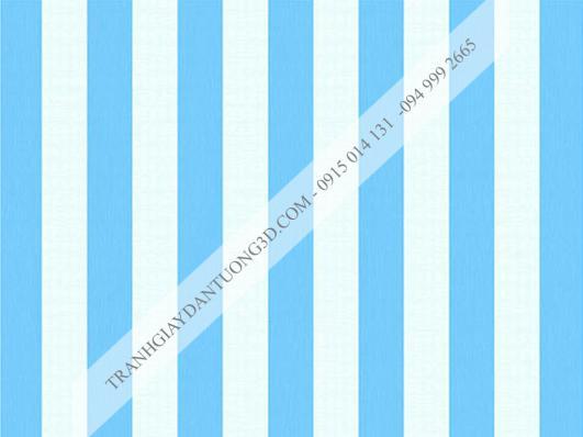 Giấy dán tường sọc xanh trắng 4001-2