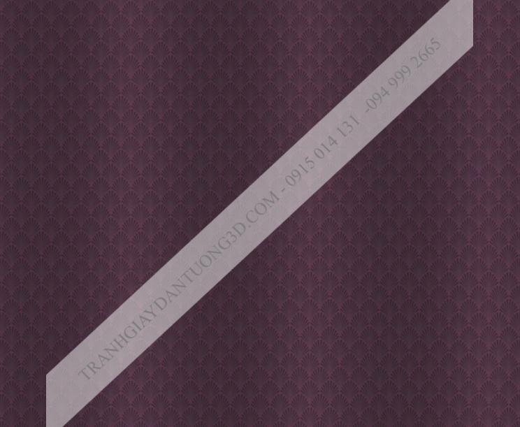 Giấy dán tường họa tiết vẩy cá màu tím 14013
