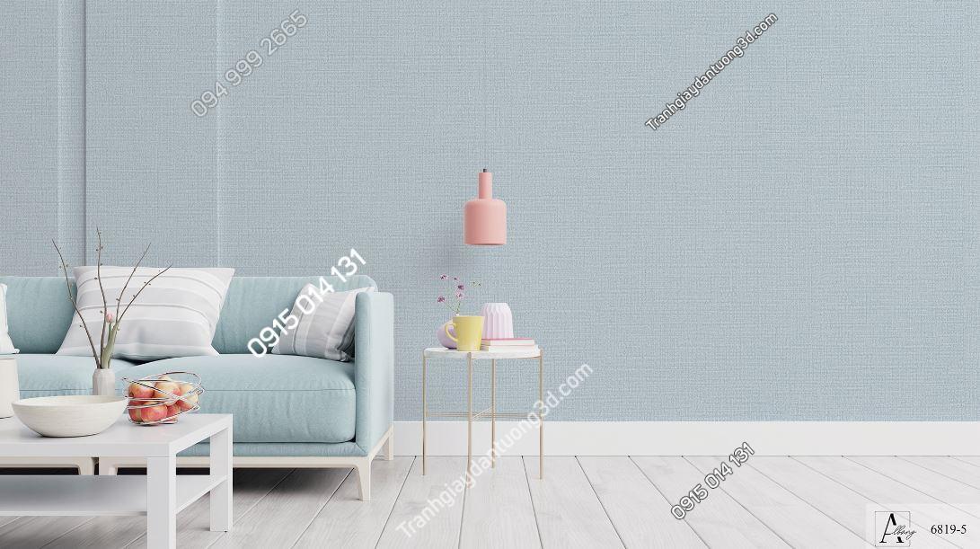 Giấy dán tường một màu ghi 6819-5 KG