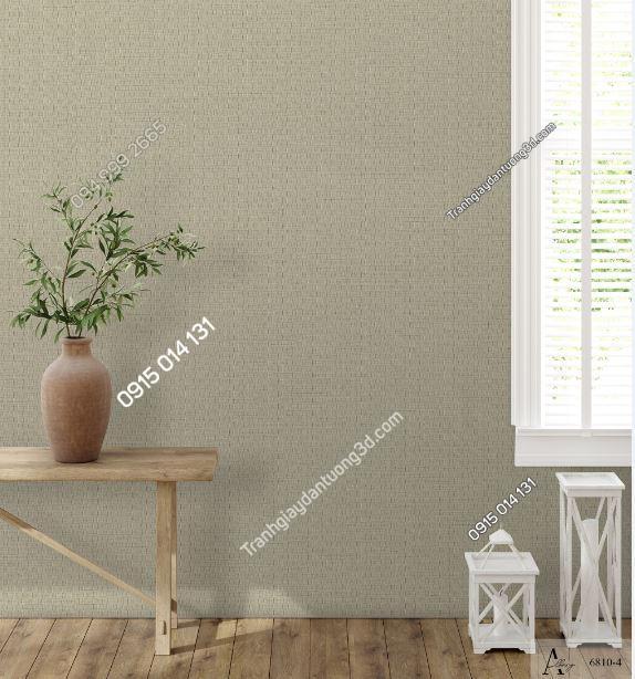 Giấy dán tường một màu nâu 6810-4 KG