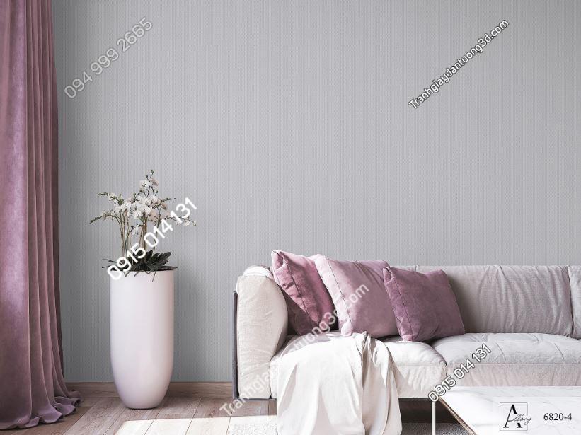 Giấy dán tường một màu nâu 6820-4 KG