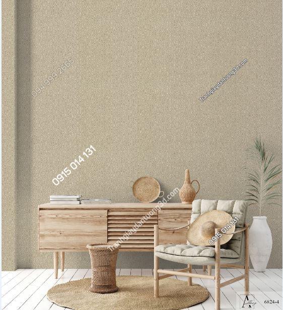 Giấy dán tường một màu nâu nhạt 6824-4 KG