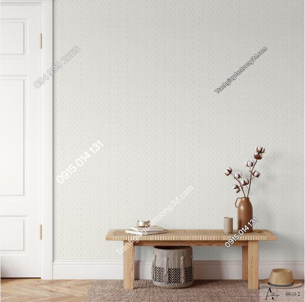 Giấy dán tường một màu trắng đục 6810-2 KG