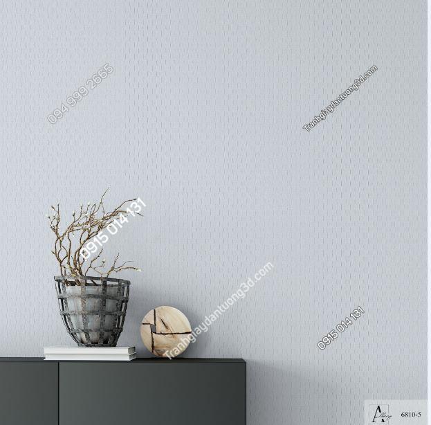 Giấy dán tường một màu xám 6810-5 KG
