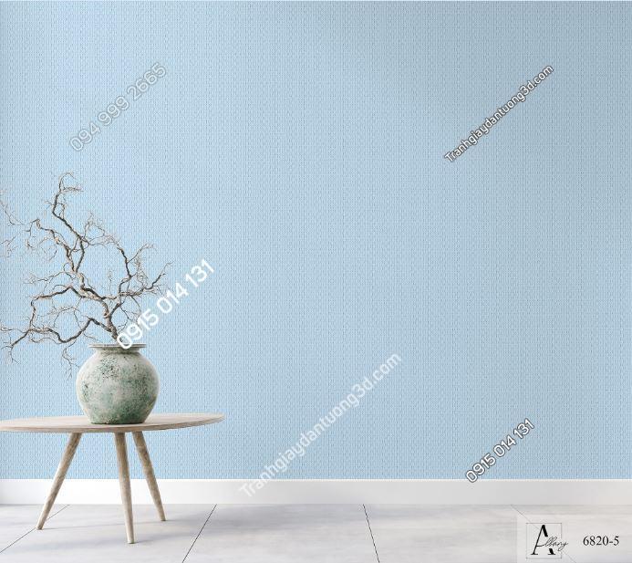Giấy dán tường một màu xanh 6820-5 KG