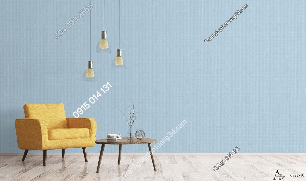 Giấy dán tường một màu xanh dương 6822-10 KG